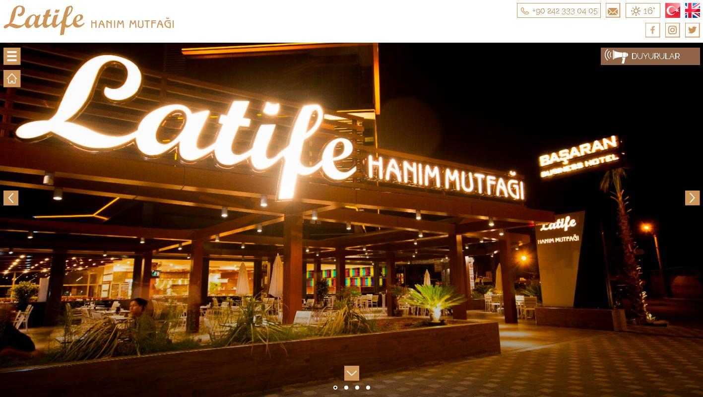 Latife Hanım Mutfağı
