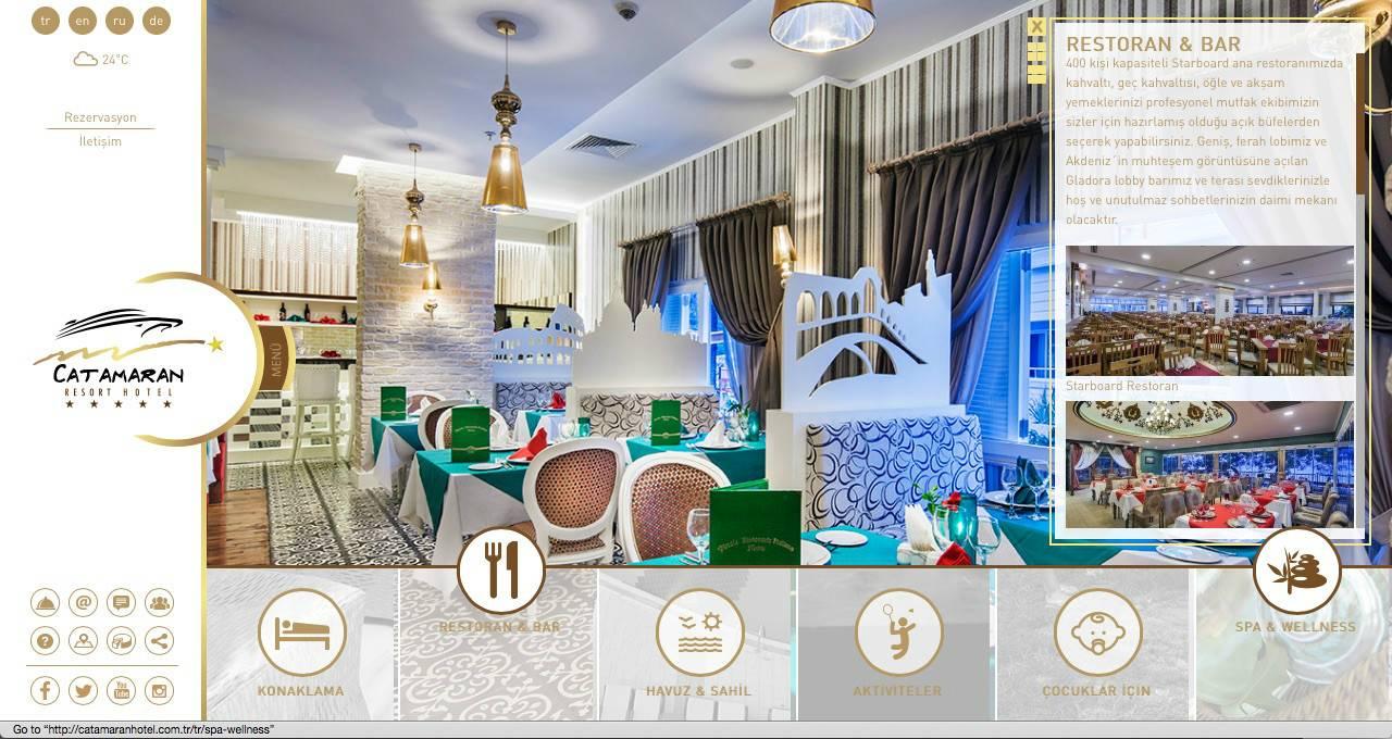 Catamaran Resort Hotel web sitesi yenilendi!