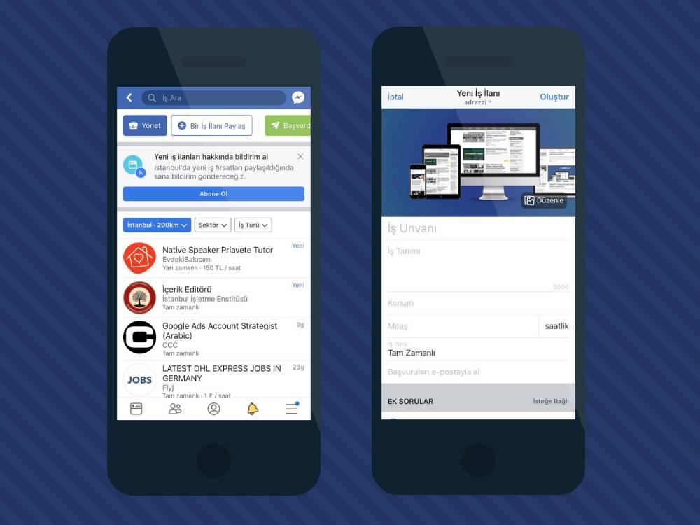 Facebook, iş ilanlarında online mülakat için Refdash'ı ekibe dahil etti